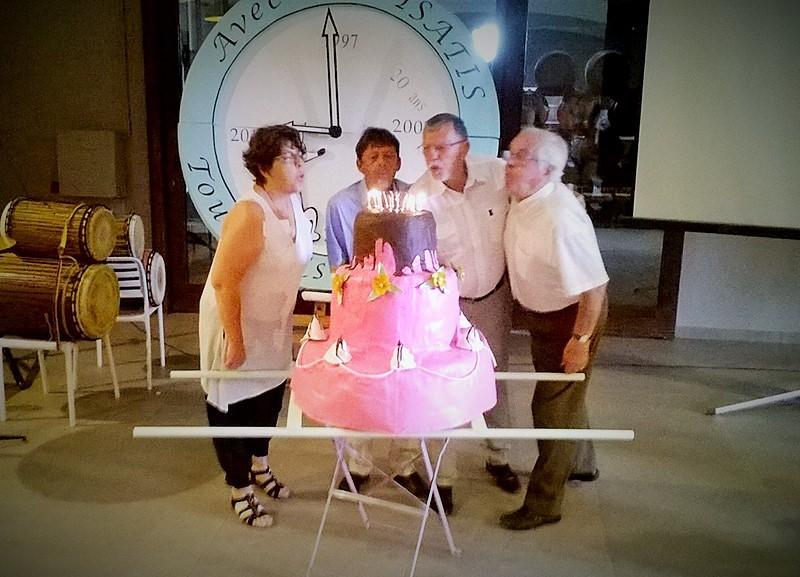 ISATIS fête son anniversaire des 20 ans